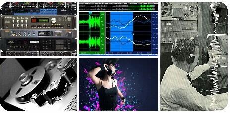 materiel pour enregistrement audio micro studio professionnel